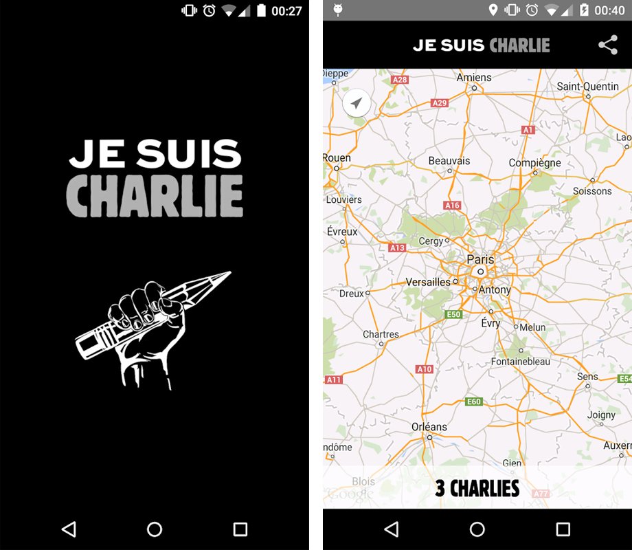 Paris-Protes a ya charlie