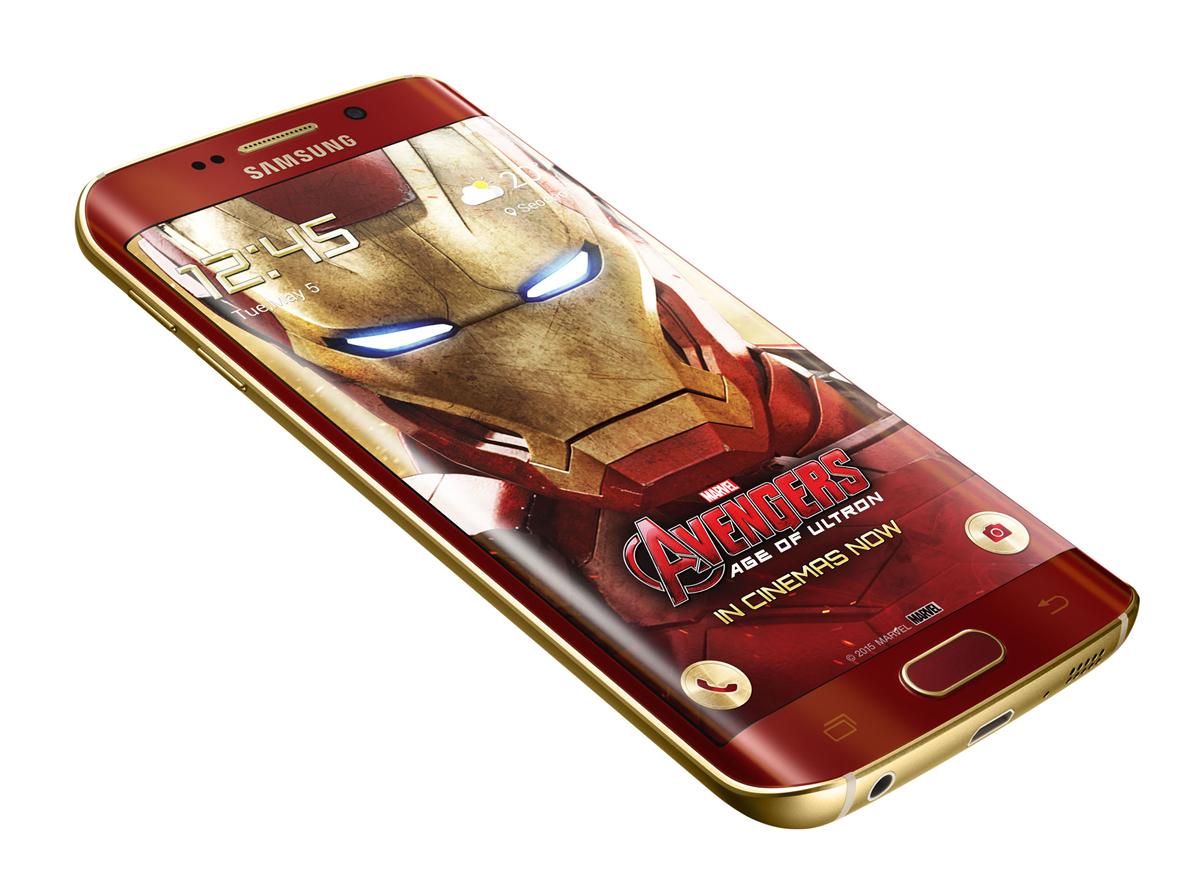 Samsung Galaxy S6 Edge и Железный Человек (3)
