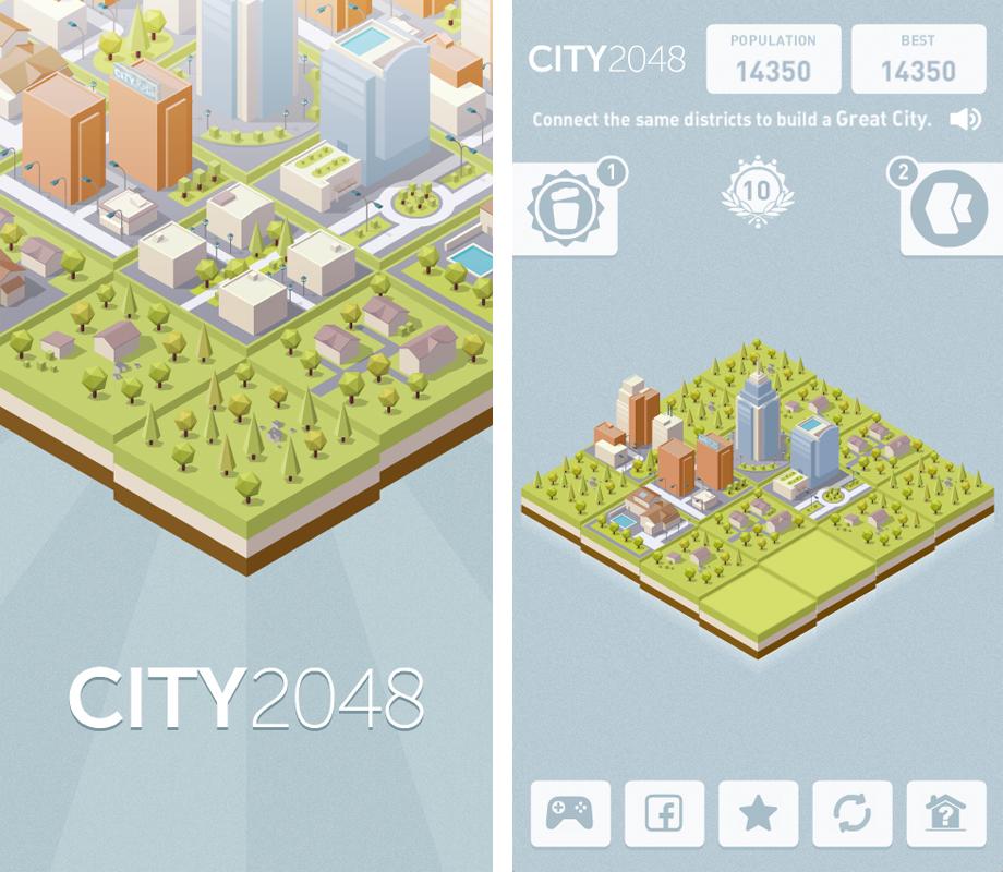 Игра City 2048_