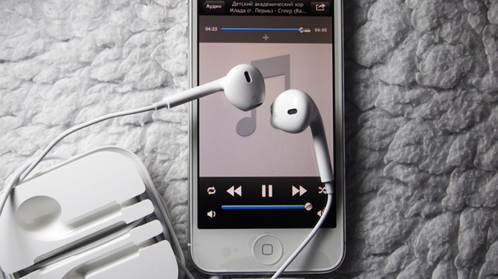 Музыка в VK на iPhone