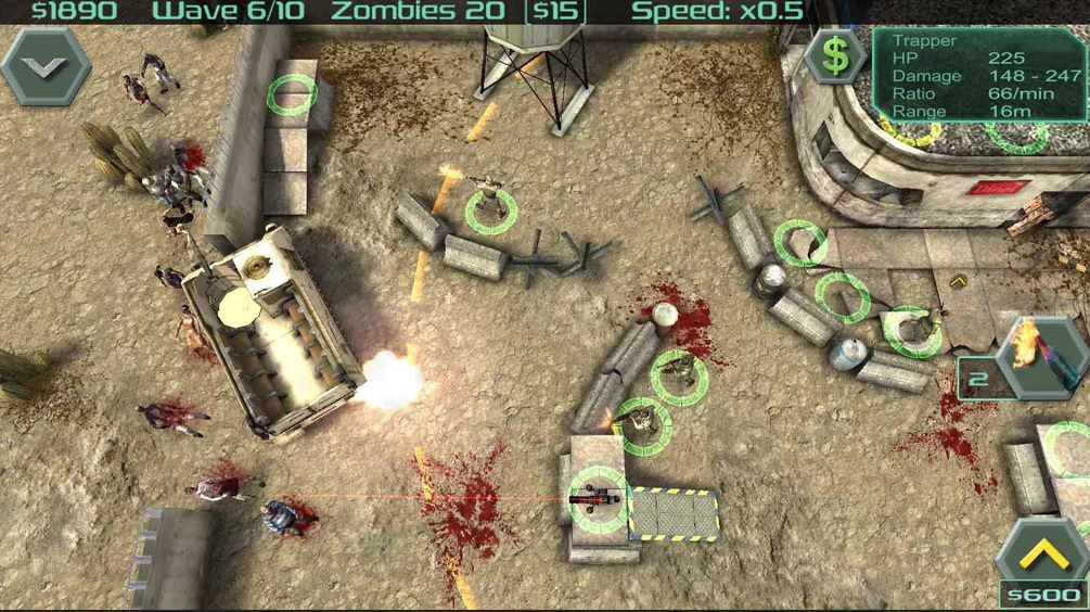 Zombie Defense-ios-
