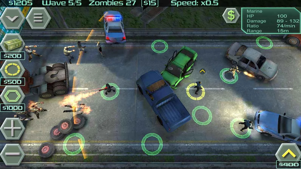 Zombie Defense-ios