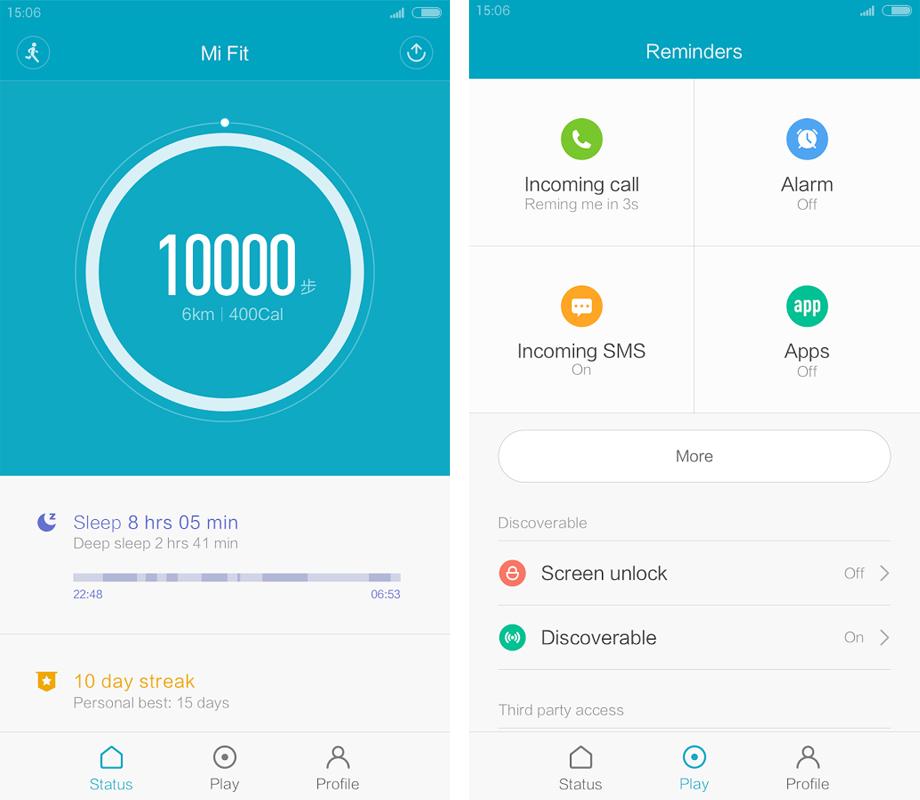 Приложение для mi-fit-андроид
