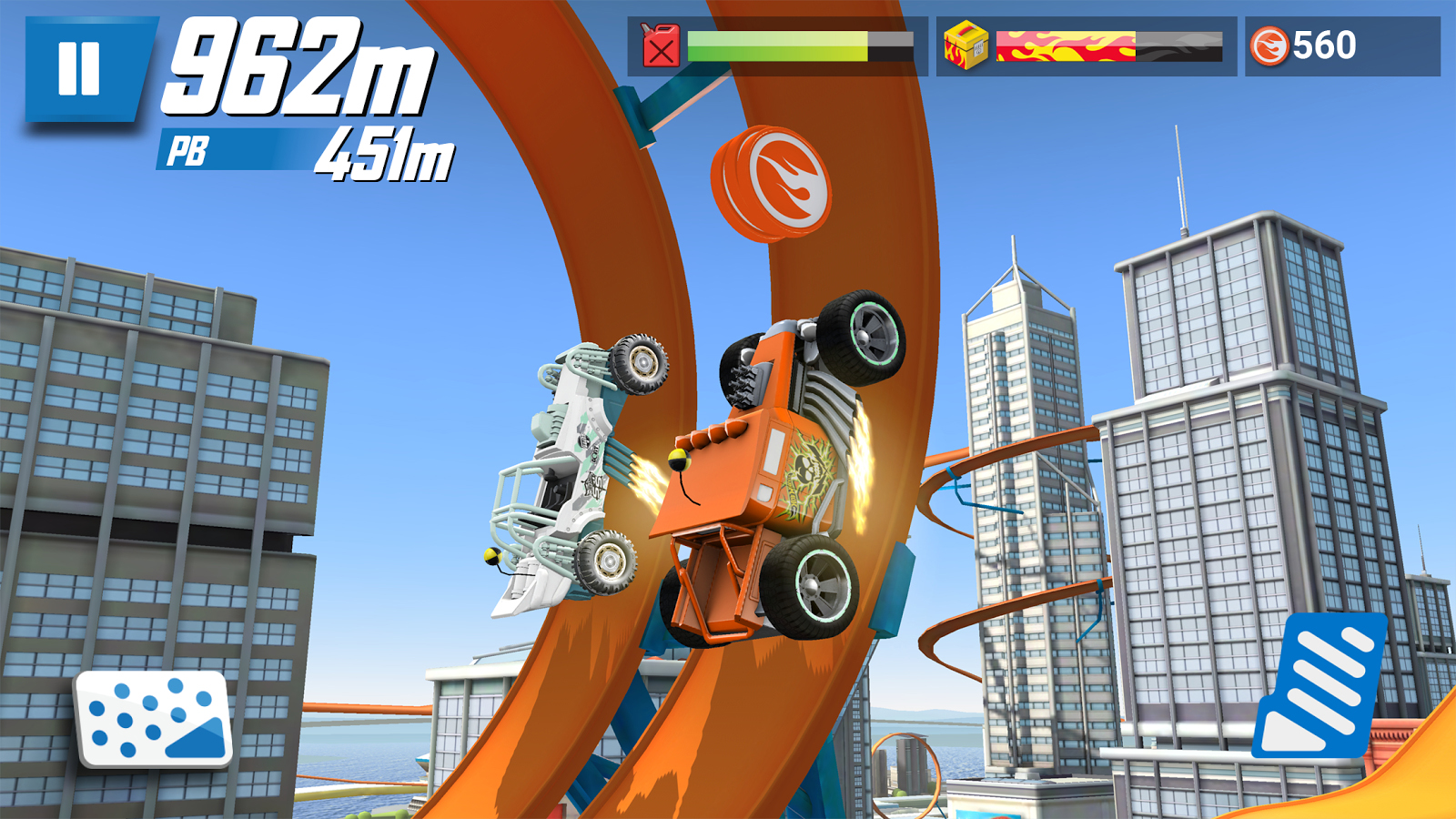 Игра Hot Wheels Race Off-android